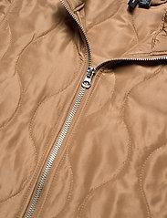 Vero Moda - VMEMMA  S/L SHORT  QUILTED VEST FM - puffer vests - tobacco brown - 2