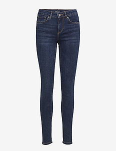VMLUX NW SUPER SLIM JEANS BA033 NOOS - DARK BLUE DENIM