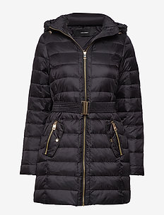 VMGOLD MARGA 3/4 DOWN JACKET BOOS - BLACK