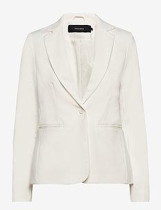 VMVICTORIA LS BLAZER COLOR - blazers - snow white