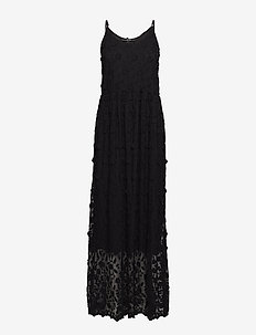 VMRAPUNZEL S/L MAXI DRESS EID18 - BLACK