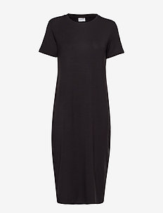 VMGAVA SS DRESS VMA - midiklänningar - black