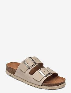 VMCARLA LEATHER SANDAL - platta sandaler - nomad