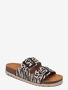 VMALDA LEATHER SANDAL - platta sandaler - nomad