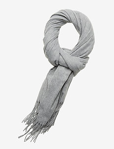 VMIMPACT LONG SCARF GA NOOS - LIGHT GREY MELANGE