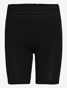 VMMAXI BIKER SHORTS GA 2PACK - cycling shorts - black