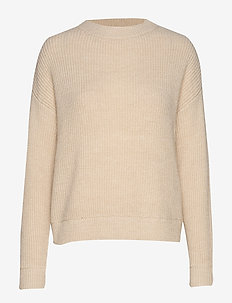 VMIMAGINE LS O-NECK KNIT VMA - BIRCH
