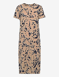 VMGAVA SS AOP DRESS VMA - t-shirtklänningar - nomad