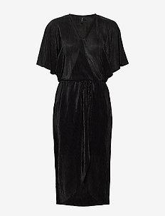 VMDAGNY 2/4 BLK DRESS JRS KI - BLACK