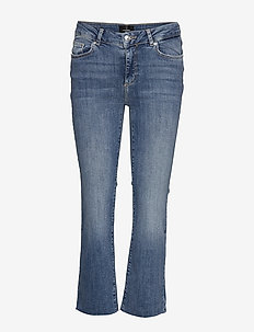 VMSHEILA MR KICK FLARE ANK J BA3114 NOOS - MEDIUM BLUE DENIM