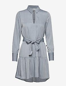 VMKAROLINA LS SHORT DRESS VMA - ASHLEY BLUE