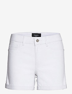 VMHOT SEVEN NW DNM FOLD SHORTS GA COLOR - jeansshorts - bright white