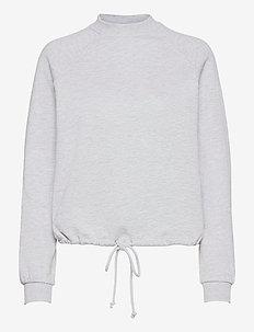 VMKIRSA LS CREW NECK VMA - sweatshirts & hoodies - light grey melange