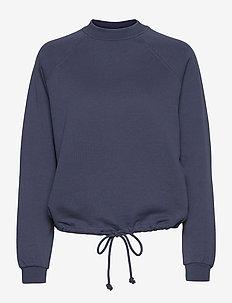 VMKIRSA LS CREW NECK VMA - sweatshirts & hoodies - vintage indigo