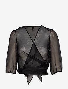 VMAVA 2/4 WRAP TOP SB2 - BLACK