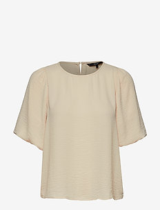 VMISABELLA SS TOP GA NOOS - basic t-shirts - birch