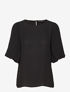 VMISABELLA SS TOP GA NOOS - basic t-shirts - black