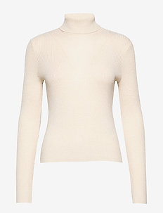 VMCUTIE LS HIGHNECK BLOUSE - golfy - birch