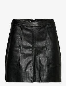 VMSYLVIA MR PL SHORT SKIRT - korta kjolar - black