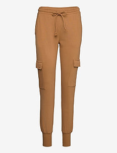 VMMERCY NW SWEAT PANT VMA - spodnie dresowe - tobacco brown