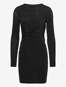 VMAMIRA LS BLK DRESS JRS - vardagsklänningar - black