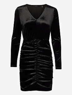 VMKAITI LS DRESS JRS - fodralklänningar - black