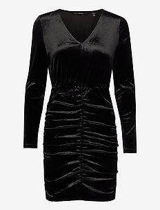 VMKAITI LS DRESS JRS - fodralklänningar - black
