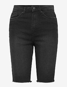 VMLOA FAITH HR L DNM SHORTS MIX GA - jeansshorts - black