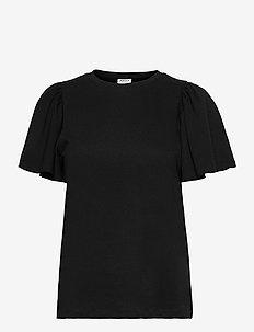 VMONELLA SS O-NECK TOP VMA - t-shirts - black