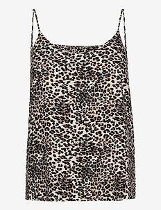 VMSIMPLY EASY SINGLET  TOP WVN GA - blouses sans manches - birch