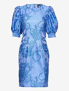 VMSTELLA 2/4 SHORT DRESS SB2 - midi kjoler - hydrangea