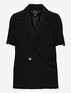 VMKENDRALAJA S/S BLAZER TLR GA - casual blazers - black