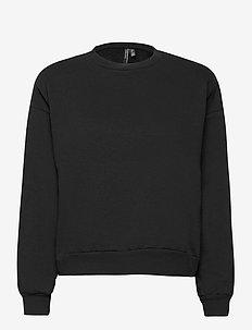 VMDAISY L/S MUSCLE SWEAT EXP - sweatshirts - black