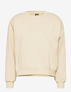 VMDAISY L/S MUSCLE SWEAT EXP - sweatshirts - creme brle