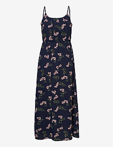 VMSASHA MAXI DRESS GA COLOR - sommarklänningar - navy blazer
