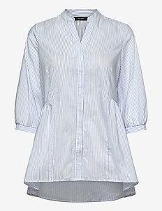 VMCLARA 3/4 LONG SHIRT - långärmade skjortor - snow white