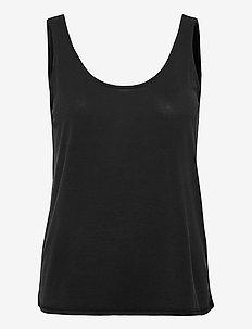 VMFILLI CALIA TANK TOP GA - t-shirts - black
