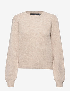 VMLEFILE PUFF LS BLOUSE REP - tröjor - birch