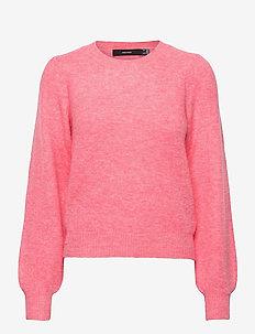 VMLEFILE PUFF LS BLOUSE REP - tröjor - geranium pink