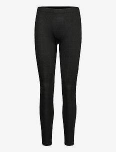 VMLACEY RIB LONG LEGGINGS EXP - leggings - black