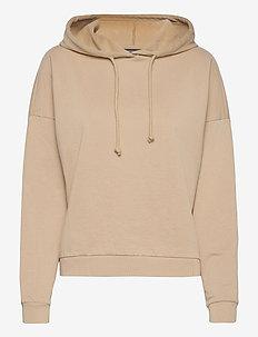 VMOCTAVIA LS HOODIE GA - sweatshirts & hoodies - white pepper