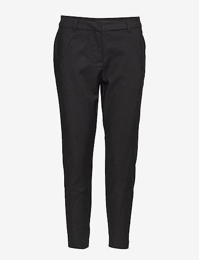 VMVICTORIA NW ANTIFIT ANKLE PANT - bukser med lige ben - black
