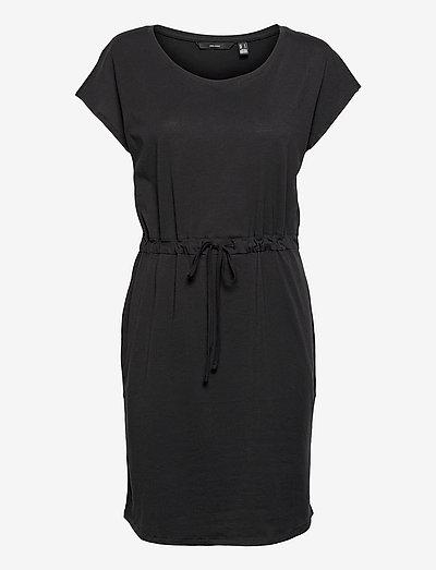 VMDARLING SS SHORT DRESS GA BOOZT - alledaagse jurken - black