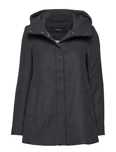 c66d4fbb Vmhyper Class Wool Jacket Noos (Dark Grey Melange) (299.50 kr) - Vero Moda  - | Boozt.com