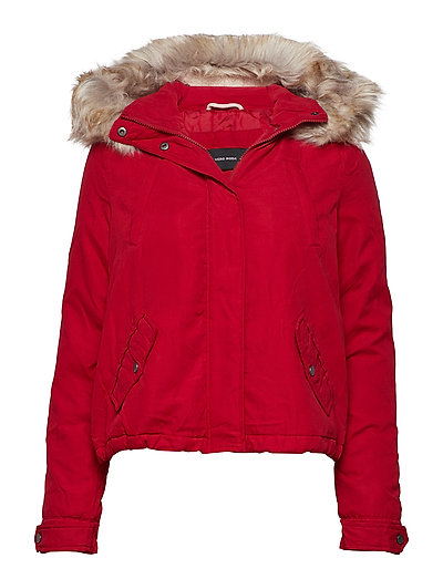 VMLIMIT BRUSH SHORT PARKA BOOS - CHILI PEPPER