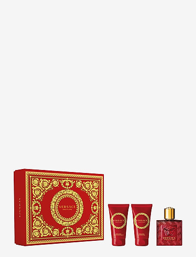 Eros Flame Pour Homme EdP 50ml + SG 50ml + AS Balm 50 ml - beauty giveaways - clear