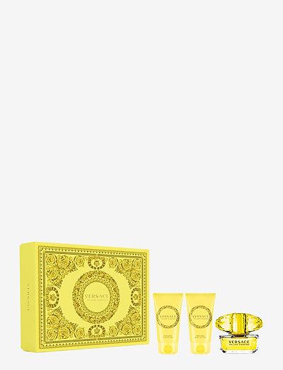 Yellow Diamond EdT Gift Set EdT 50ml + SG 50ml + BL 50ml - parfymset - clear