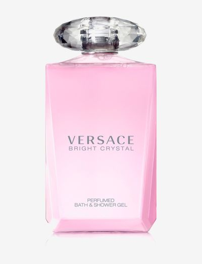 Versace Bright Crystal Bath&Sh Gel 200ml - shower gel - clear