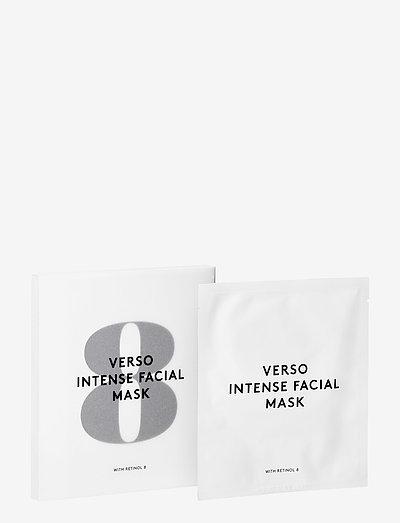 No 8 - Intense Facial Mask - sheet mask - clear