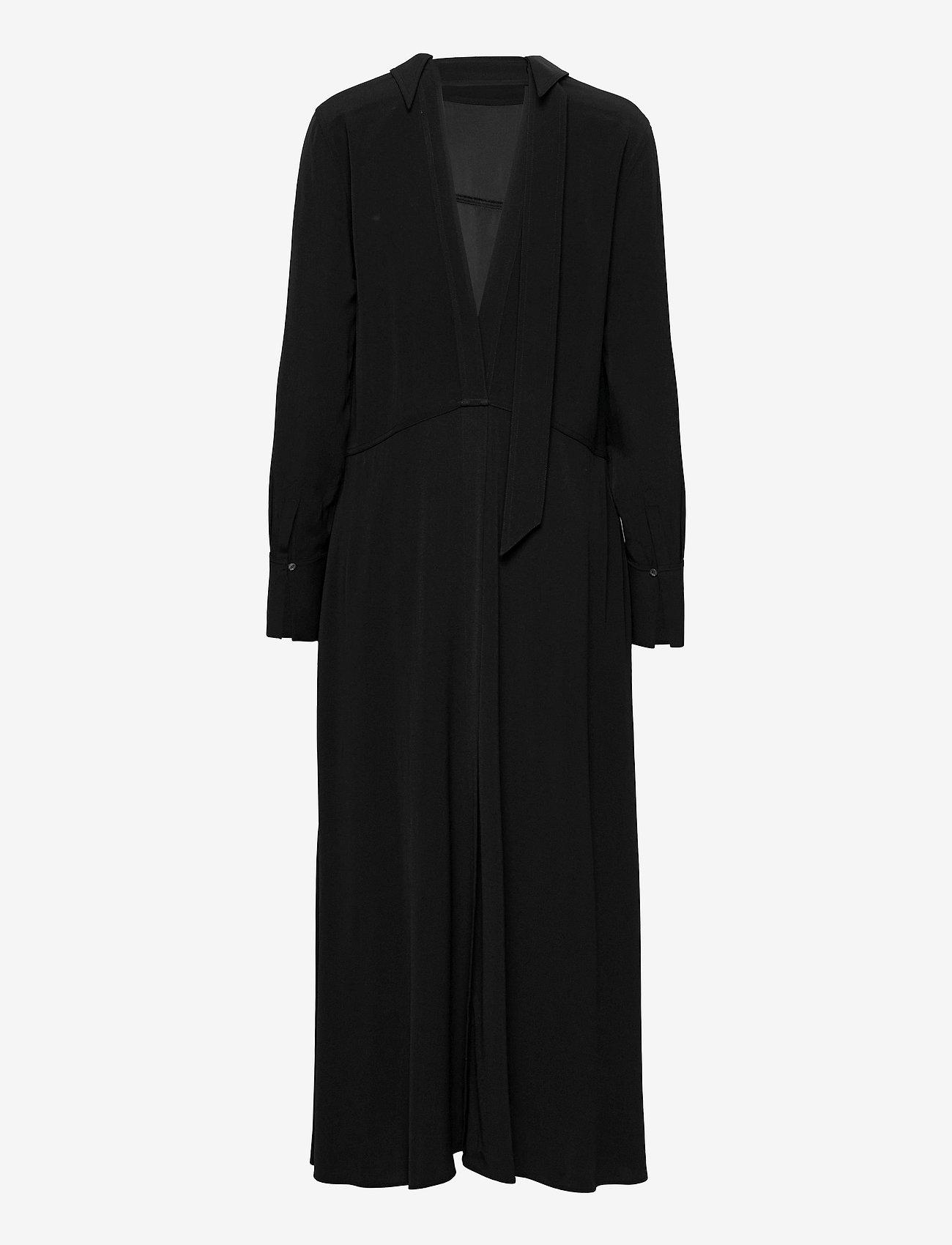 Victoria Victoria Beckham - LONG SLEEVE MAXI DRESS - evening dresses - black - 1